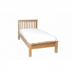 Devonshire Pine and Oak Ready assembled New Oak 3 foot LOW FOOT END BED NH15