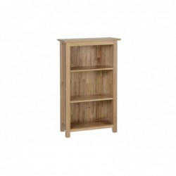 Devonshire Pine and Oak Ready assembled New Oak 3 FOOT NARROW BOOKCASE NK15