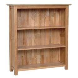 Devonshire Pine and Oak Ready assembled New Oak 3 FOOT BOOKCASE NK20