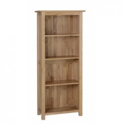 Devonshire Pine and Oak Ready assembled New Oak 5 FOOT NARROW BOOKCASE NK25