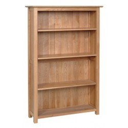 Devonshire Pine and Oak Ready assembled New Oak 5 FOOT BOOKCASE NK30