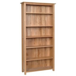 Devonshire Pine and Oak Ready assembled New Oak 6 FOOT BOOKCASE NK50