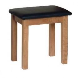 Devonshire Pine and Oak Ready assembled New Oak DRESSING TABLE STOOL NS10