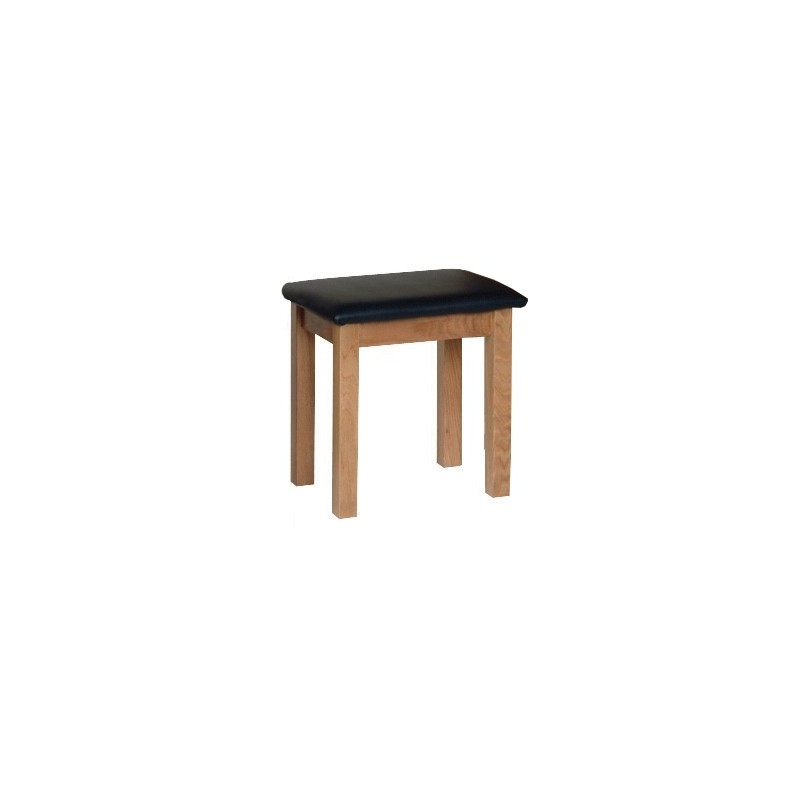 Devonshire Pine and Oak Ready assembled New Oak DRESSING TABLE STOOL NS10