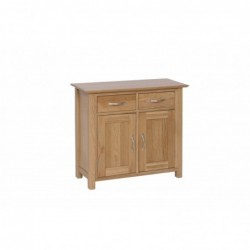 Devonshire Pine and Oak Ready assembled New Oak SMALL SIDEBOARD NS15