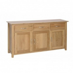 Devonshire Pine and Oak Ready assembled New Oak LARGE SIDEBOARD NS45
