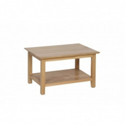 Devonshire Pine and Oak Ready assembled New Oak COFFEE TABLE 760mm NT17
