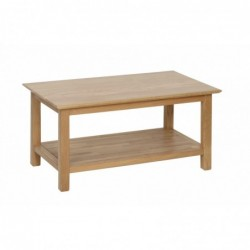 Devonshire Pine and Oak Ready assembled New Oak COFFEE TABLE 915mm NT18