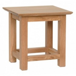 Devonshire Pine and Oak Ready assembled New Oak SIDE TABLE NT35