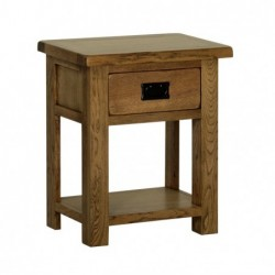 Devonshire Pine and Oak Ready assembled Rustic Oak NIGHT STAND RB25