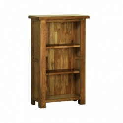 Devonshire Pine and Oak Ready assembled Rustic Oak 3 FOOT NARROW BOOKCASE RK15
