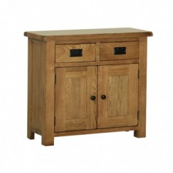 Devonshire Pine and Oak Ready assembled Rustic Oak SMALL SIDEBOARD RS15