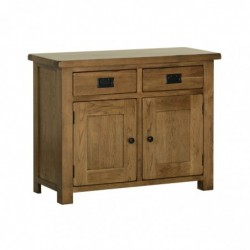 Devonshire Pine and Oak Ready assembled Rustic Oak 3 FOOT DRESSER BASE RS20