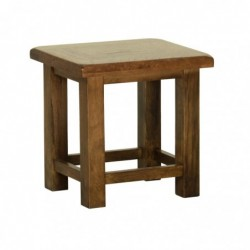 Devonshire Pine and Oak Ready assembled Rustic Oak SIDE TABLE RT35