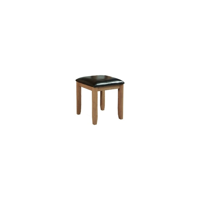 Devonshire Pine and Oak Ready assembled Somerset Oak  STOOL SOM023