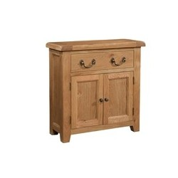 Devonshire Pine and Oak Ready assembled Somerset Oak SMALL SIDEBOARD SOM050