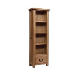 Devonshire Pine and Oak Ready assembled Somerset Oak BOOKCASE 600 X 1800 SOM061
