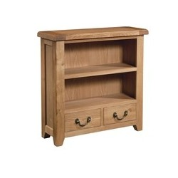 Devonshire Pine and Oak Ready assembled Somerset Oak BOOKCASE 900 X 900 SOM063
