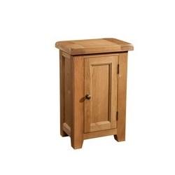 Devonshire Pine and Oak Ready assembled Somerset Oak 1 DOOR CABINET SOM066