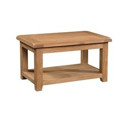 Devonshire Pine and Oak Ready assembled Somerset Oak STANDARD COFFEE TABLE SOM074