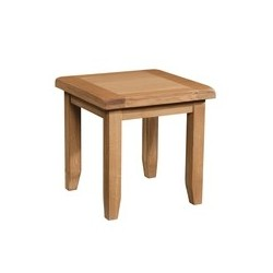 Devonshire Pine and Oak Ready assembled Somerset Oak LAMP TABLE  SOM077