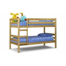 Wyoming Bunk Bed - Solid Antique Pine 90cm
