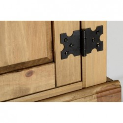 furniture shops and stores corona telford shrewsburySeconique Corona 1 drawer 1 door bedside cabinet waxed
