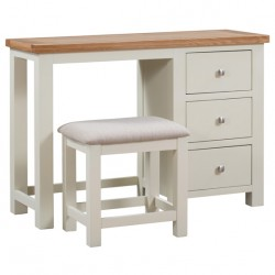 Devon painted dressing table with stool