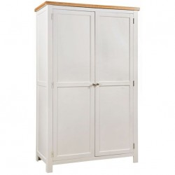 Devon painted double wardrobe