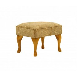 Deluxe Queen Anne footstool