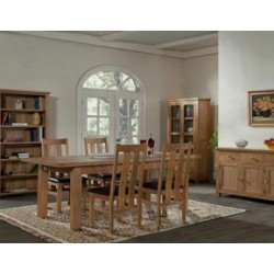 Devon oak dining set