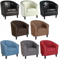 Tempo Fabric Tub Chair