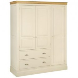 Lundy triple wardrobe with...