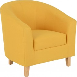 Tempo tub chair in mustard...