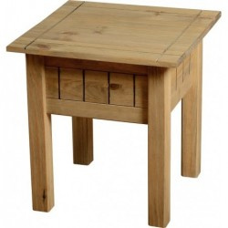 Panama Lamp Table Seconique flat packed furniture