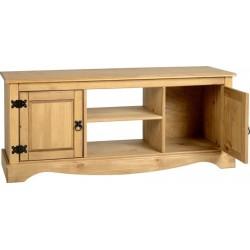 Corona 2 Door 1 Shelf Flat Screen TV Unit Seconique flat packed furniture