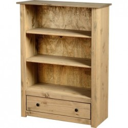 Panama 1 Drawer Bookcase Seconique flat packed furniture