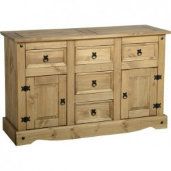 seconique Corona 2 Door 5 Drawer Sideboard