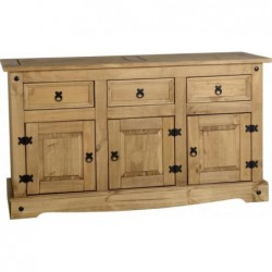 seconique Corona 3 Door 3 Drawer Sideboard