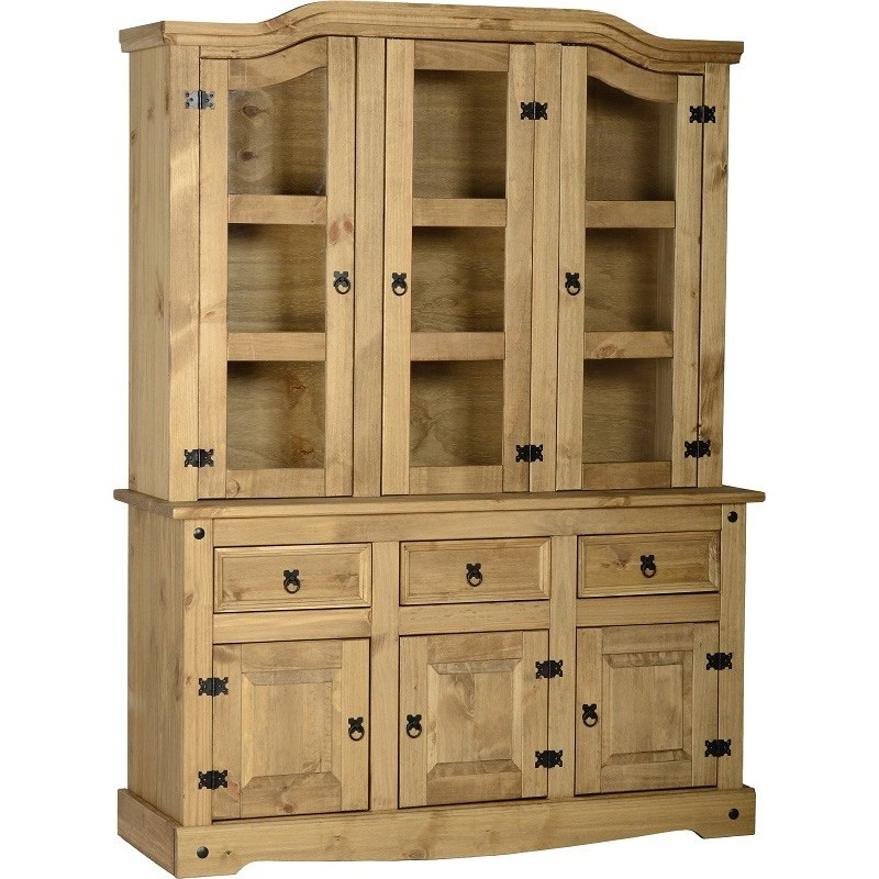 Corona 4 foot 6 inches Buffet Hutch Seconique flat packed furniture