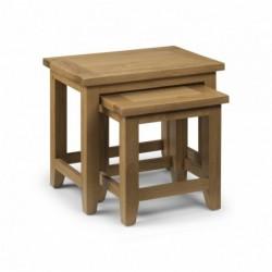 Julian Bowen Astoria Nest of Tables stockist