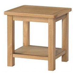 Burford Oak Lamp Table With...