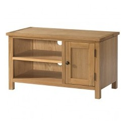 Burford Oak Small TV Unit