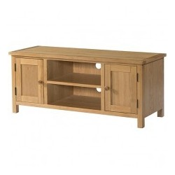 Burford Oak Large TV Unit