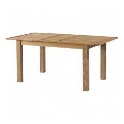Burford Oak Extending dining table devonshire pine