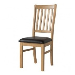 Burford Oak Chair ready assembled devonshire pine