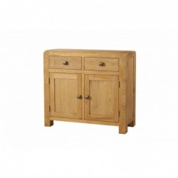 Devonshire Pine and Oak Ready assembled Avon Oak SIDEBOARD 2 DRAWER 2 DOOR DAV003