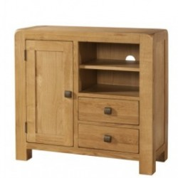 Devonshire Pine and Oak Ready assembled Avon Oak SIDEBOARD MEDIA UNIT DAV006
