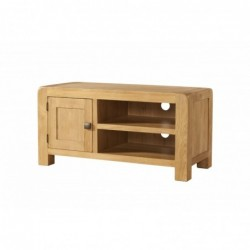 Devonshire Pine and Oak Ready assembled Avon Oak STANDARD TV UNIT DAV017