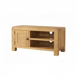 Devonshire Pine and Oak Ready assembled Avon Oak STANDARD TV UNIT DAV017